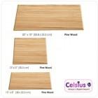 Wooden Slates - Pine wood
