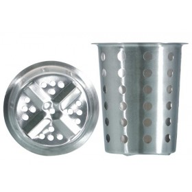 Utensil Canister with Holes