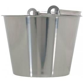 Bucket without bottom band