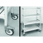 4 Shelves Trolley