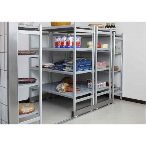 High density shelving system - Easy install modular outdoor kitchens create chefs paradise ...