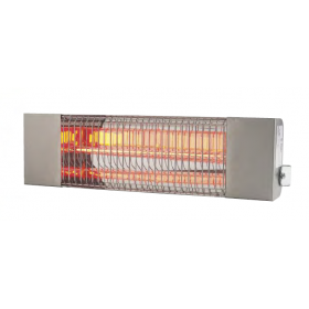 Infrared Electric Heater IR1500-IPX5 Stainless