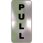 Wall Sign - Pull