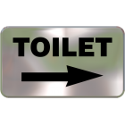 Wall Sign - Toilet (Right Side)