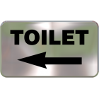 Wall Sign - Toilet (Left Side)