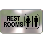 Wall Sign - Restrooms