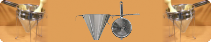 Funnels, Strainers and Sieves