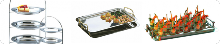 Trays Platters & Stands
